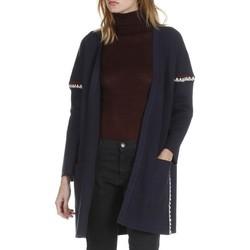 Vêtements Femme Gilets / Cardigans Suncoo GRAY Bleu