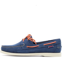 Chaussures Homme Chaussures bateau Sebago Docksides Navy / Coral Wide