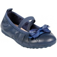 Chaussures Fille Baskets mode Geox Ballerine J Piuma Ball B Marine Bleu