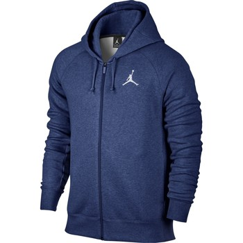 Vêtements Homme Sweats Air Jordan - Sweat à capuche zippé Flight Hoodie - 823064 bleu