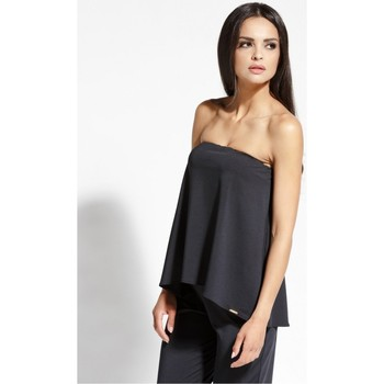 Vêtements Femme Tops / Blouses Dursi Top model 68149 Fekete