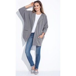 Vêtements Femme Gilets / Cardigans Bien Fashion Cardigan model 116016 Gris