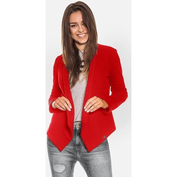 Vêtements Femme Gilets / Cardigans Bien Fashion Cardigan model 115995 Piros