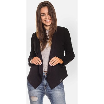 Vêtements Femme Gilets / Cardigans Bien Fashion Cardigan model 115998 Fekete