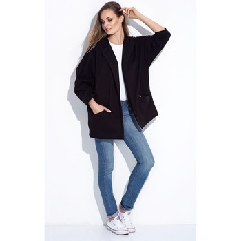 Vêtements Femme Gilets / Cardigans Bien Fashion Cardigan model 116017 Fekete
