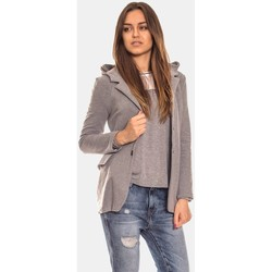 Vêtements Femme Vestes Bien Fashion Jacket model 111545 Gris