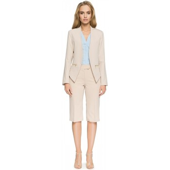 Vêtements Femme Vestes Style Jacket model 112826 Bézs