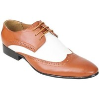 Chaussures Homme Derbies Kebello Chaussures Bi-color marron