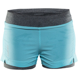 Vêtements Femme Shorts / Bermudas Craft breakaway 2-in-1 shorts dame 2304 xs (XS) Noir
