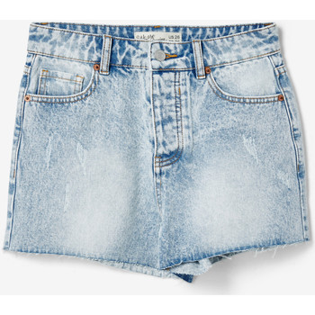 Vêtements Femme Shorts / Bermudas Jennyfer Short en jean we are denim ciel