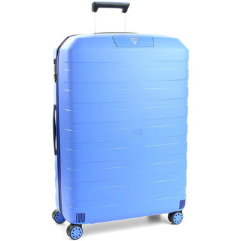 Sacs Valises Rigides Roncato Valise trolley grand Box 2.0  ref_ron41082 0328 bleu Bleu