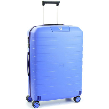 Sacs Valises Rigides Roncato Valise trolley medium Box 2.0  ref_ron41083 0328 bleu Bleu