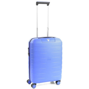Sacs Valises Rigides Roncato Valise trolley small Box 2.0  ref_ron41084 0328 bleu Bleu
