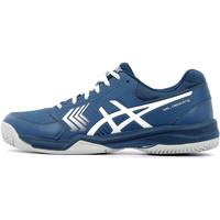 Chaussures Homme Baskets basses Asics Gel Dedicate 5 CLAY Dark Blue / Silver / W