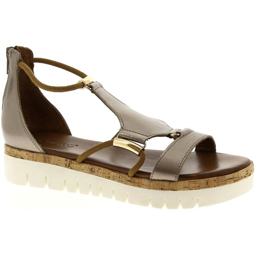 Inuovo 8979 Plomb - Chaussures Sandale Femme