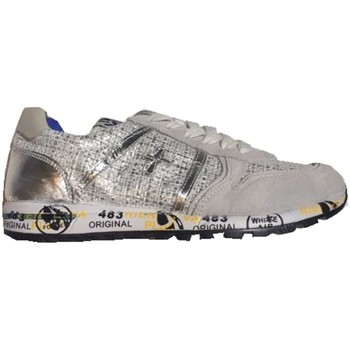 Chaussures Fille Baskets basses Premiata SKY 0734 Chaussures fille argent argent