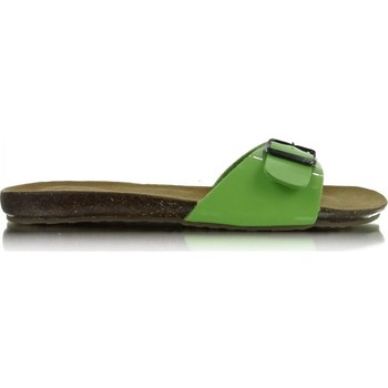 Chaussures Femme Claquettes Heppin Clacquettes model 29716 vert