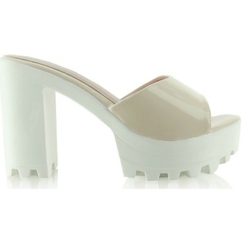 Chaussures Femme Claquettes Heppin Clacquettes model 41098 beige
