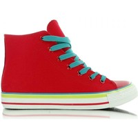 Chaussures Femme Baskets montantes Heppin Baskets model 27253 rouge