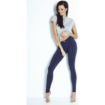 Vêtements Femme Leggings Ivon Leggings longues model 86855 bleu marine