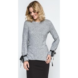 Vêtements Femme Gilets / Cardigans Enny Chandail model 104005 gris