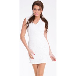 Vêtements Femme Robes courtes Yournewstyle Robe courte model 48869 blanc
