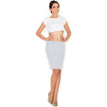 Vêtements Femme Jupes Katrus Jupe model 47976 Gris