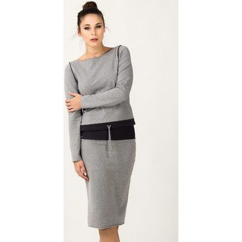 Vêtements Femme Jupes Tessita Jupe model 36078 gris