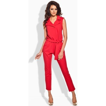 Vêtements Femme Combinaisons / Salopettes Lemoniade Combinaison model 51832 rouge