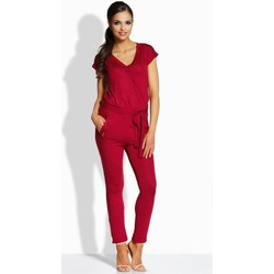Vêtements Femme Combinaisons / Salopettes Lemoniade Combinaison model 86490 rouge