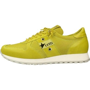 Chaussures Homme Baskets basses Cetti C1141 Jaune