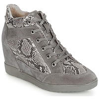 Chaussures Femme Baskets basses Geox D CARUM Gris