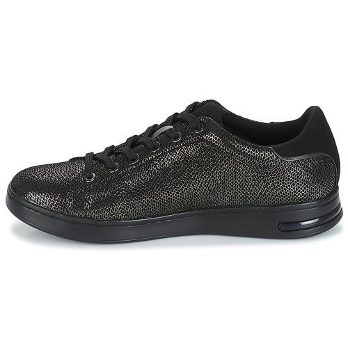 Femme Baskets Basses Geox Jaysen Chaussures GrisNoir D ZuOkXPi