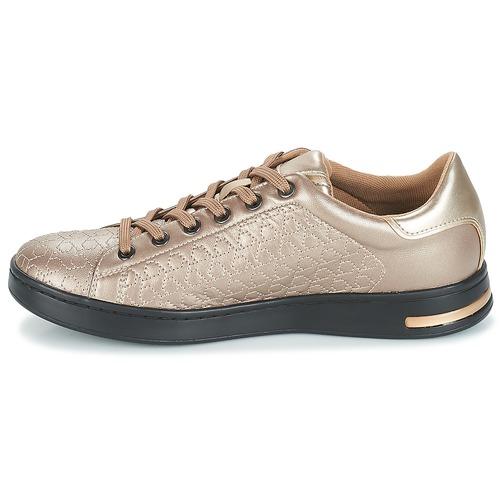 Femme Geox Chaussures Jaysen D Beige Basses Baskets yNP0Ov8nwm