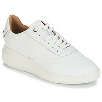 Chaussures Femme Baskets basses Geox D RUBIDIA Blanc