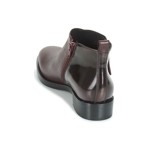 Geox Boots Donna Femme Bordeaux Brogue K1Tc3lJuF