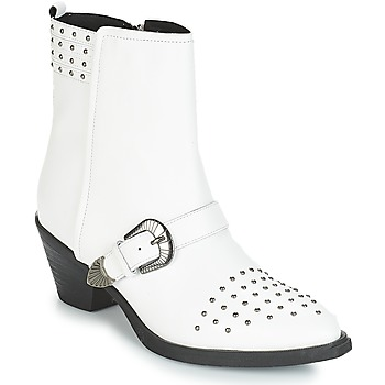 Chaussures Femme Bottines Geox D LOVAI Blanc