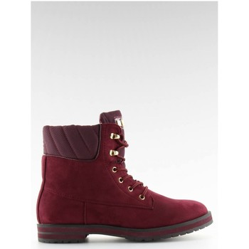 Inello Bottes trappeur model 109700 rouge - Chaussures Bottine Femme