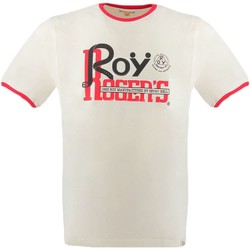 Vêtements Homme T-shirts manches courtes Roy Rogers ROT TEE T-shirt Homme blanc blanc
