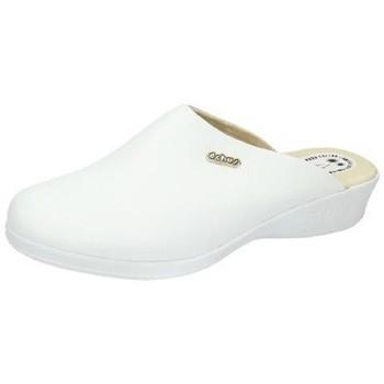 Chaussures Femme Sabots Dchus  Blanc