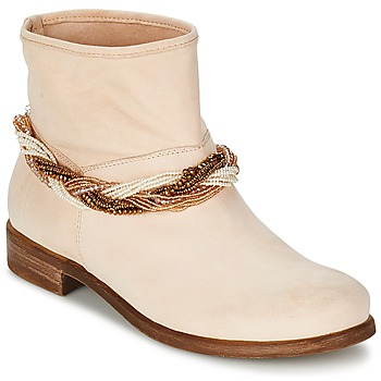 Chaussures Femme Boots Tosca Blu TETHYS Beige