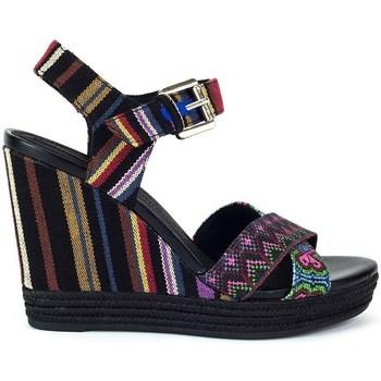 Chaussures Femme Sandales et Nu-pieds Geox Janira Noir