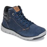 Chaussures Garçon Baskets montantes Geox J XUNDAY BOY Marine / Noir