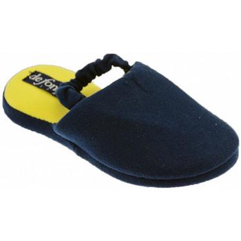 Chaussures Enfant Chaussons De Fonseca Stikart Pantoufles Bleu