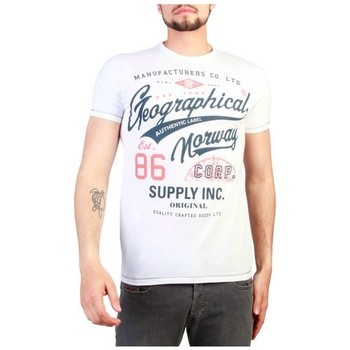Vêtements T-shirts manches courtes Geographical Norway - Jercy_man blanc