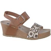 Chaussures Femme Sandales et Nu-pieds Mephisto Sandale cuir LISSANDRA Marron