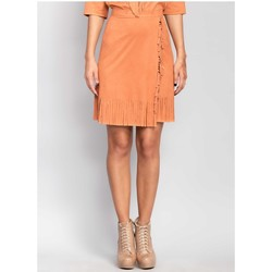 Vêtements Femme Jupes Mira Mod Jupe model 81003 orange