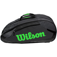 Sacs Sacs de sport Wilson Tour Team II 12 pack Grey / Green