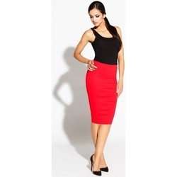Vêtements Femme Jupes Dursi Jupe model 68271 rouge