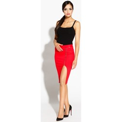 Vêtements Femme Jupes Dursi Jupe model 68272 rouge
